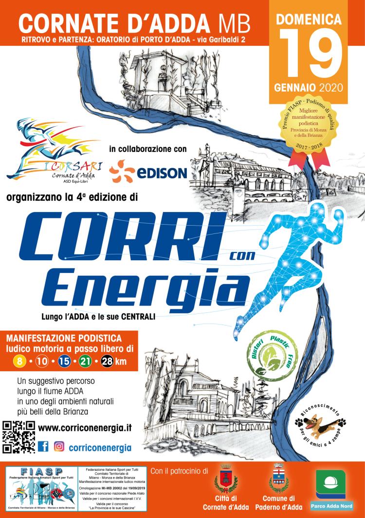 corri con energia 2020