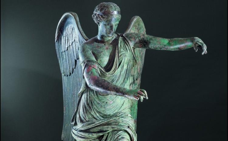 vittoria alata - museo santa giulia brescia