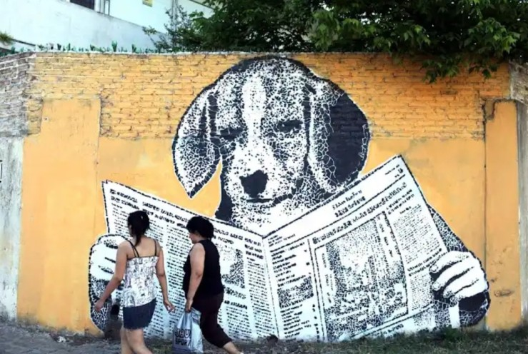 stencil attivismo argentina comunicazione