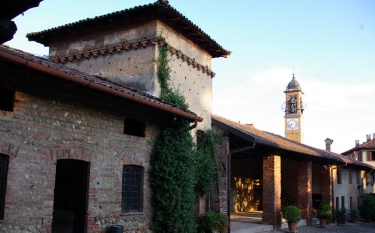torretta medievale casino di caccia borromeo