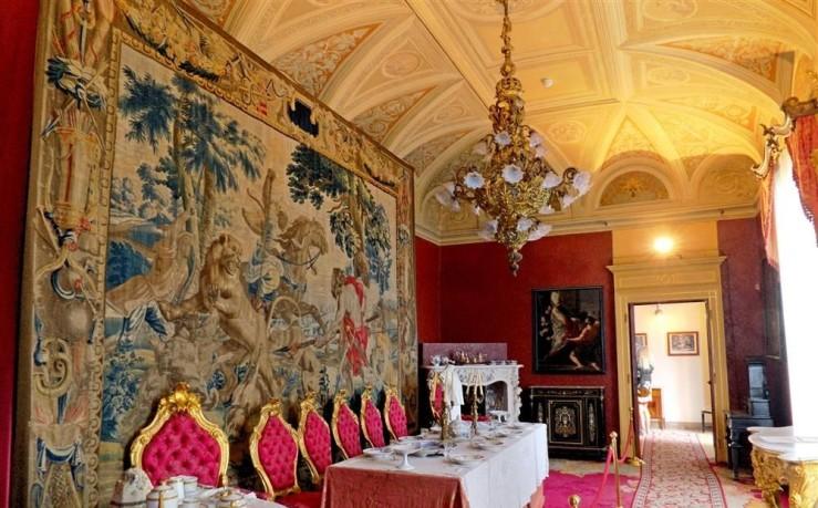 villa monastero - interni - varenna--