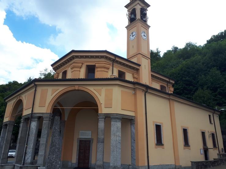 madonna del bosco chiesa