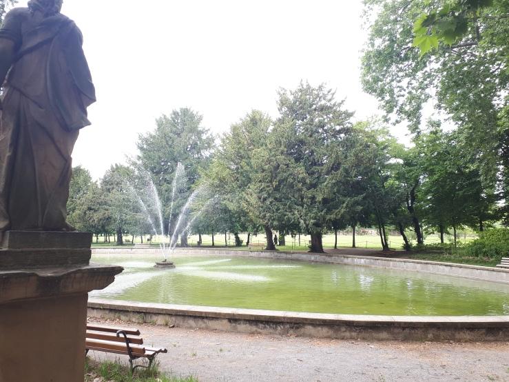 ninfeo giardini palazzo arese borromeo -