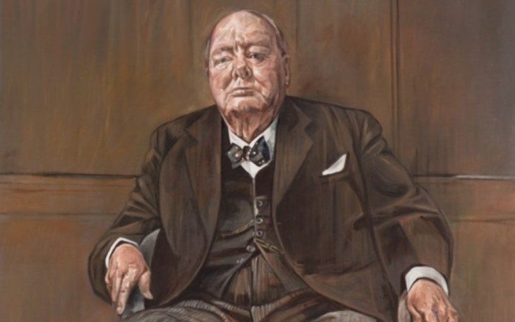 graham sutherland ritratto di sir winston churchill